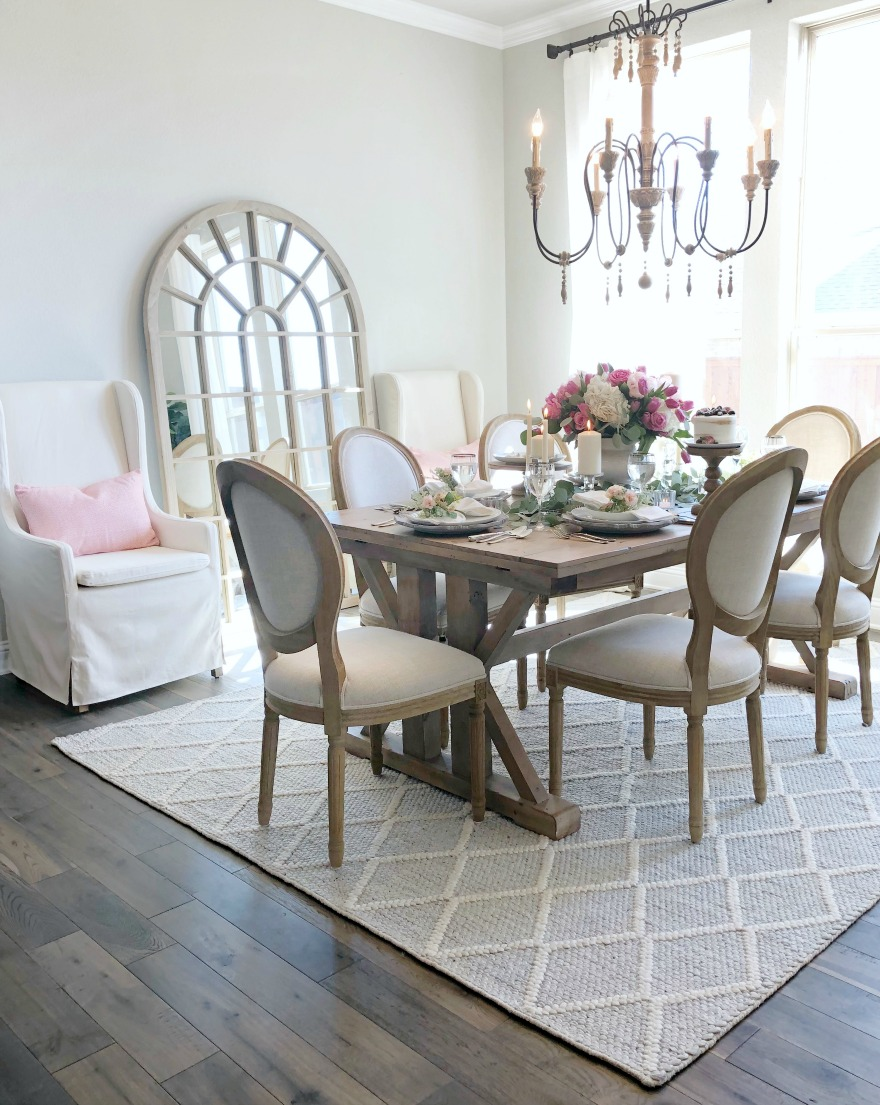french country dining room farmhouse home tour