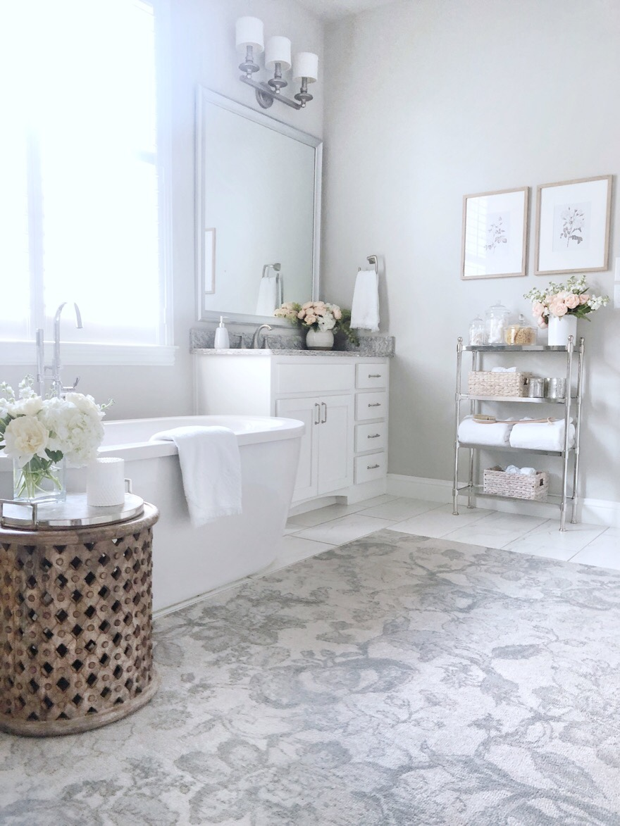 Bathroom Update Adding Stylish Storage To Control The Clutter My Texas House