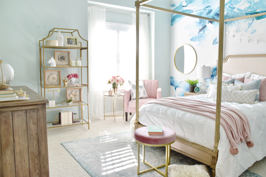 Teen Room Refresh: Gallery Wall and Glam Accents - My ... on Teenage Room  id=65600