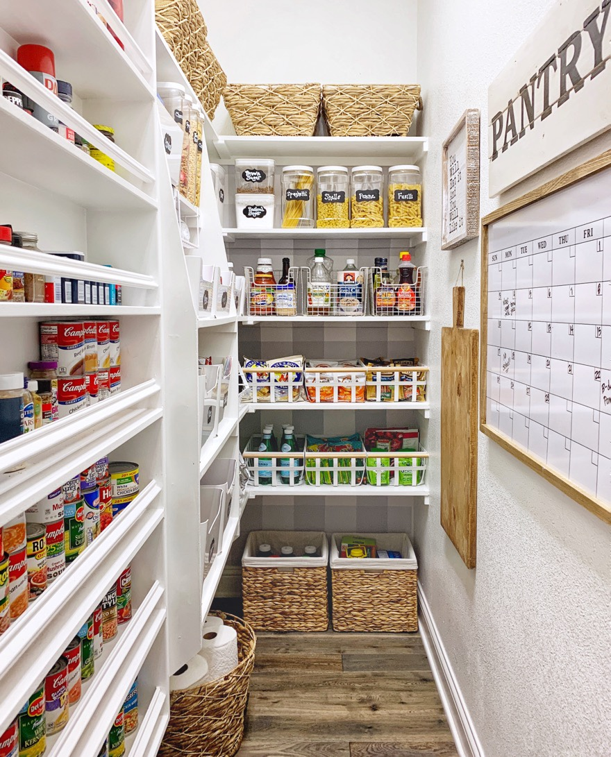 Organized Pantry And Pantry Tips: Pantry Makeover: Easy Organization Tips And Ideas