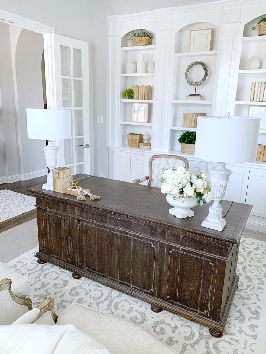 French Country Style Office Makeover My Texas House